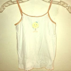Gymboree girls cotton undershirt tank size 7-8